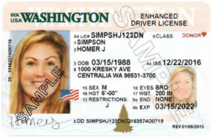 Washington Enhanced Driver License