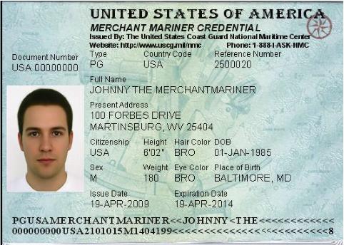 Merchant Marine ID